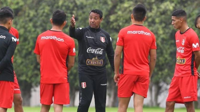 Nolberto Solano intensificó entrenamientos con la Sub 23 en el día de su cumpleaños