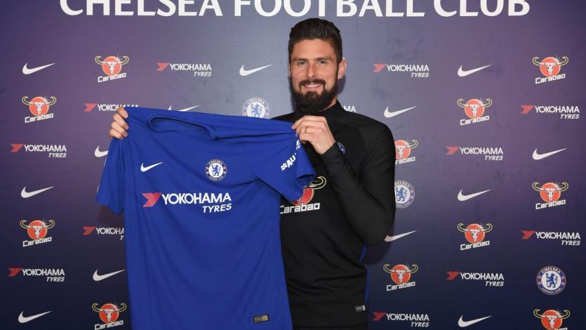 Chelsea ficha a Olivier Giroud