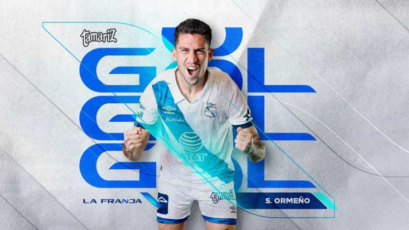 Santiago Ormeño: el goleador del Puebla se lució con un hat-trick en el fútbol mexicano (VIDEO)