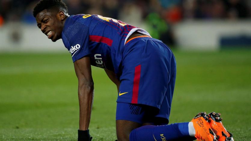 Ousmane Dembélé enciende las alarmas en Barcelona