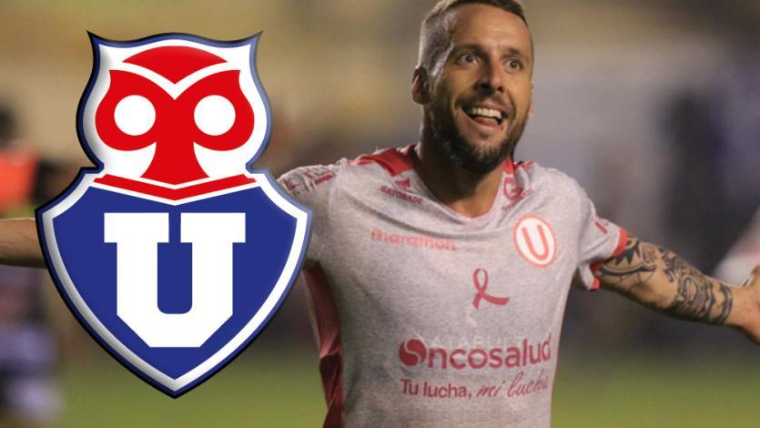 Universitario: club grande de Chile quiere fichar a Pablo Lavandeira para que sea su 10 (VIDEO)