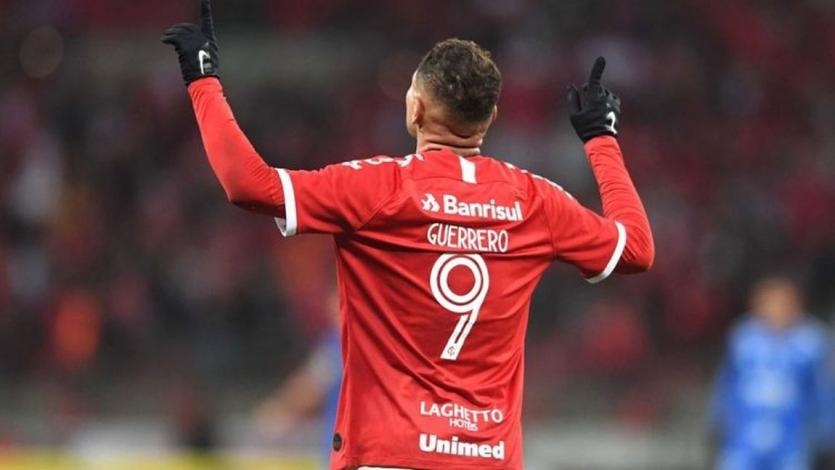 Paolo Guerrero anota su primer gol del 2020 con el Inter de Porto Alegre (VIDEO)