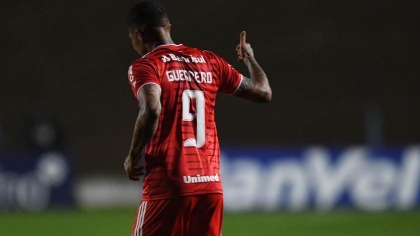 Paolo Guerrero se reencontró con el gol en gran triunfo del Inter de Porto Alegre (VIDEO)