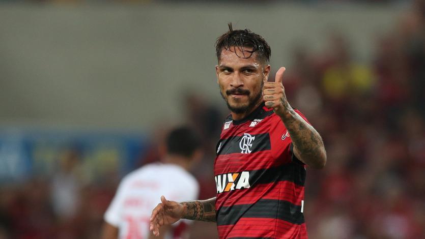 Paolo Guerrero entrenó con el equipo titular del Flamengo