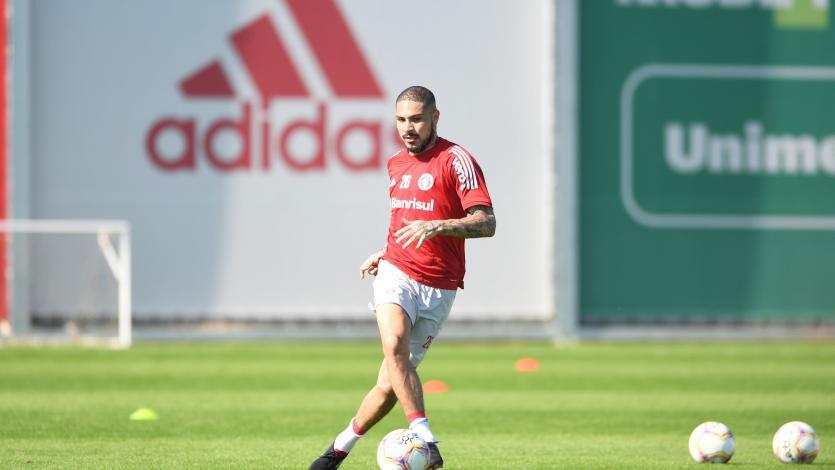 Paolo Guerrero: Internacional de Porto Alegre empezó a entrenar en grupo (FOTOS)
