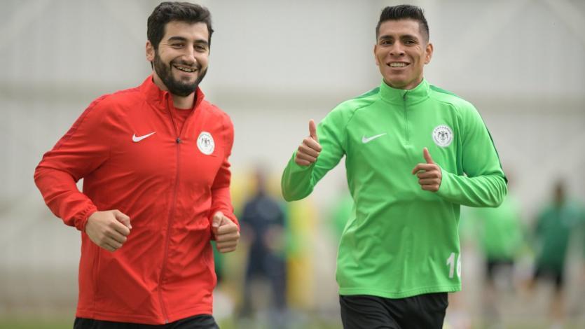 Paolo Hurtado aparece en los entrenamientos del Konyaspor