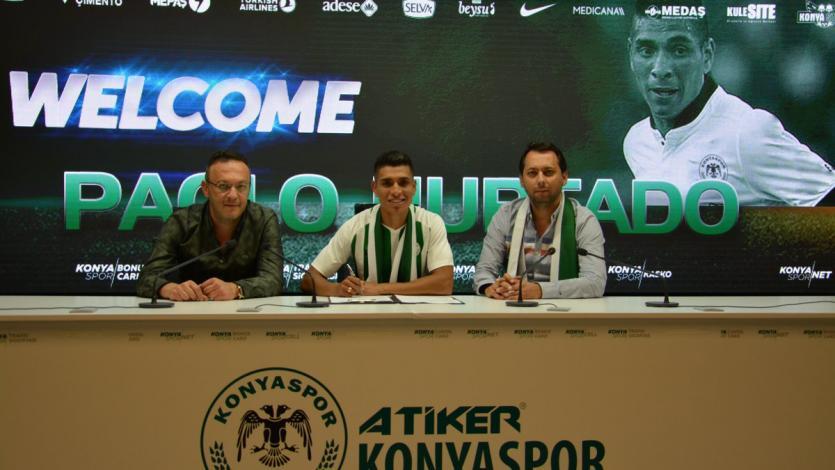 Paolo Hurtado jugará por el Konyaspor de Turquía por 3 temporadas