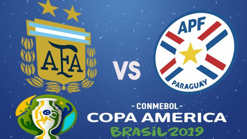 Copa América Brasil 2019: Argentina vs Paraguay por el grupo B
