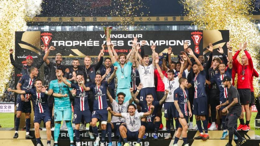 París Saint Germain ganó la Supercopa Francesa gracias a un brutal golazo de Ángel Di María (VIDEO)