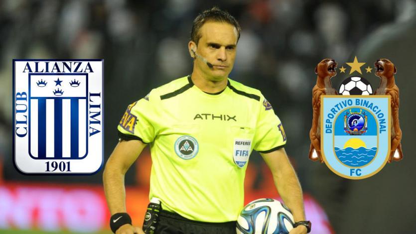 Alianza Lima vs Binacional: argentino Patricio Loustau sería el árbitro principal de la final