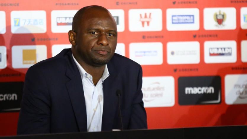 Patrick Vieira es el nuevo DT del Niza