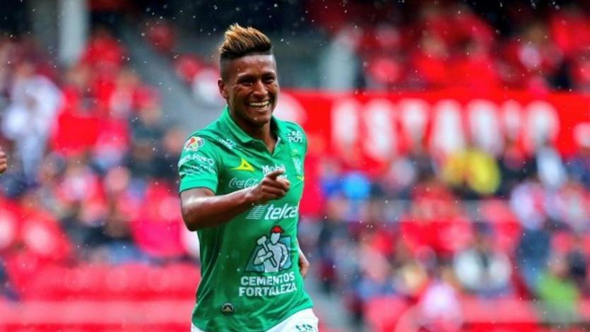 Pedro Aquino anota su segundo gol en el fútbol mexicano con León