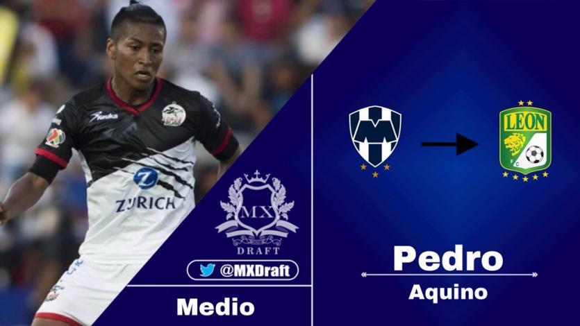 Pedro Aquino es el nuevo refuerzo de León de México