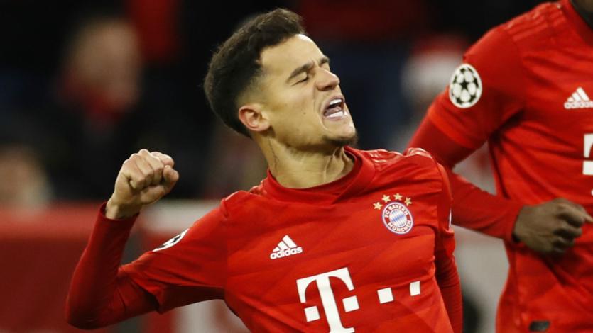 Bayern Múnich extendió el préstamo de Philippe Coutinho por la Champions League