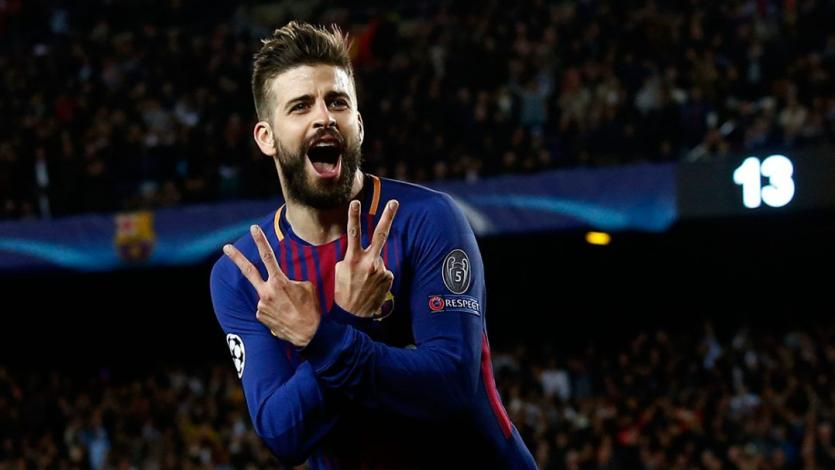 Champions League: Piqué ya es el tercer defensa más goleador de la historia