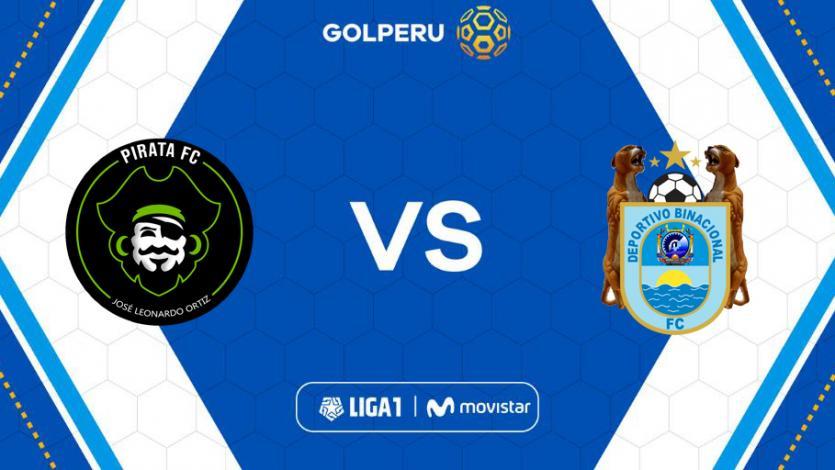 Pirata FC vs Binacional: hora, estadio y posibles alineaciones del partido por Liga1 Movistar