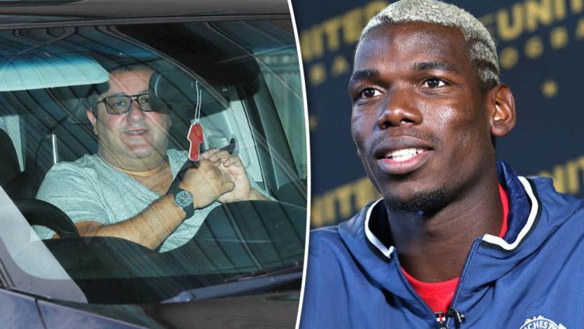 Mino Raiola le pide al Manchester United que venda a Pogba