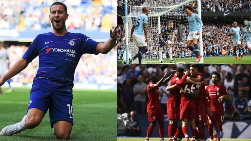 Premier League: Chelsea y Liverpool siguen firmes en la punta
