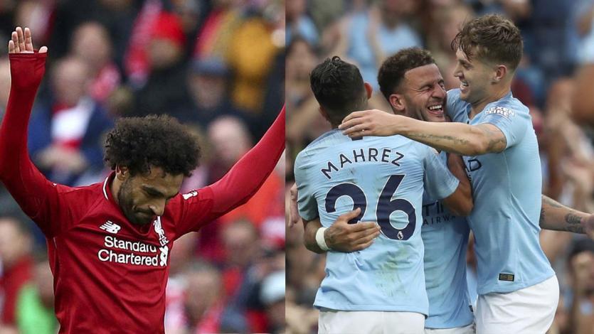 Premier League: Liverpool y Manchester City apabullaron a sus rivales