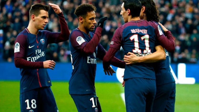 PSG volvió a la victoria ante Strasburgo (5-2)