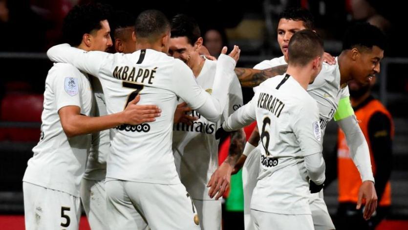 Ligue 1: PSG goleó al Dijon y se repone de la eliminación de la Champions