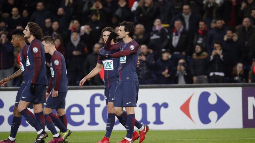 Copa de Francia: PSG, sin Neymar ni Mbappé, se metió en octavos de final