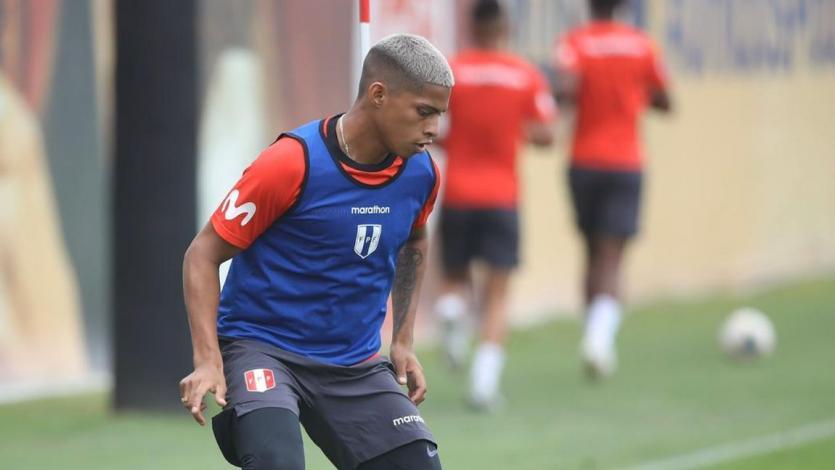 Selección Peruana: Kevin Quevedo fue desconvocado de la Sub-23