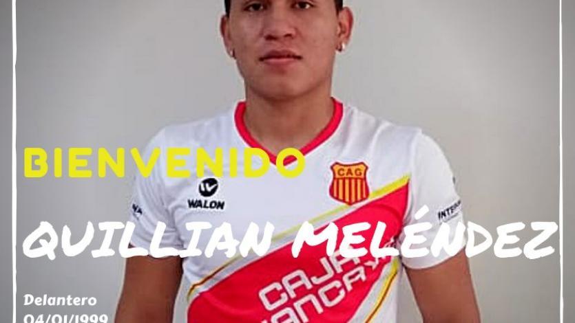 Atlético Grau fichó al delantero Quillian Meléndez