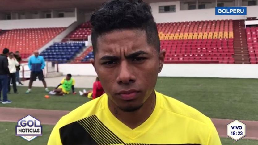 Erinson Ramírez espera enfrentar a su ex equipo: