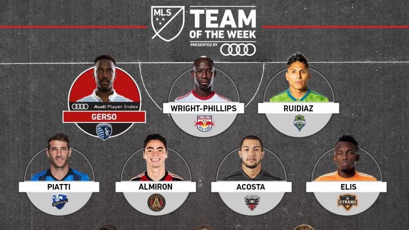 MLS: Raúl Ruidíaz fue incluido en el once ideal de la fecha