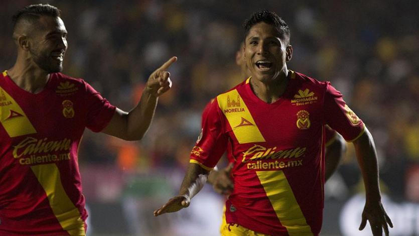 Raúl Ruidíaz elegido mejor jugador del mes en Morelia