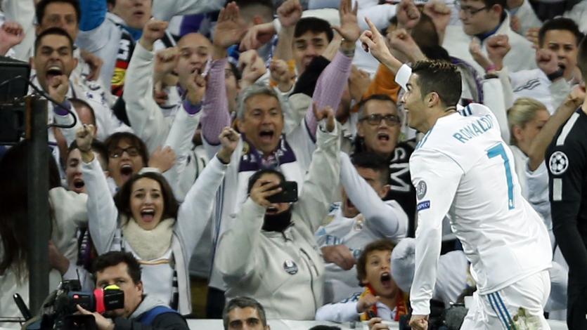 Real Madrid venció al PSG con doblete de CR7