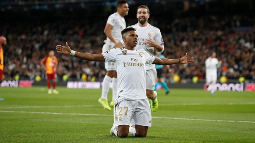 Champions League: Real Madrid y Rodrygo arrasaron con el Galatasaray en el Bernabeu