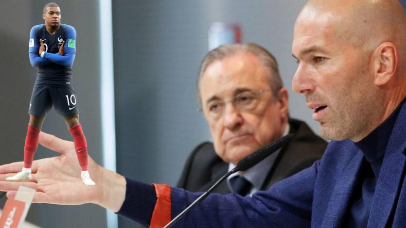 Real Madrid: este es el plan de Florentino Pérez y Zinedine Zidane para fichar a Kylian Mbappé