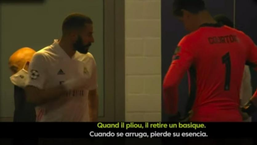 Karim Benzema a Ferland Mendy: