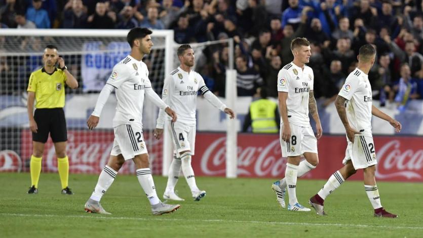 Real Madrid cae en su visita a Mendizorroza