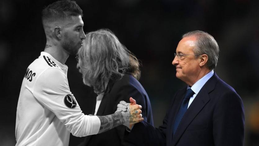 Real Madrid: Florentino Pérez y Sergio Ramos se dijeron de todo delante de los jugadores