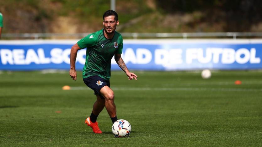 David Silva supera el coronavirus y ya entrena con la Real Sociedad