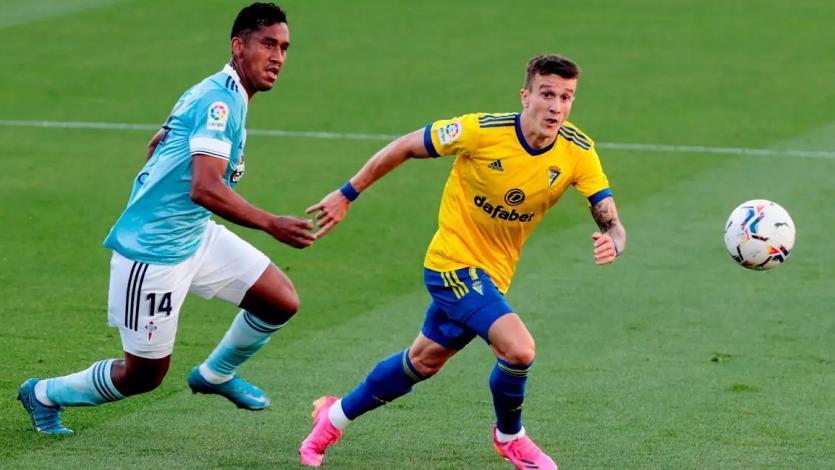 Renato Tapia fue elegido el mejor jugador del partido con el Celta de Vigo