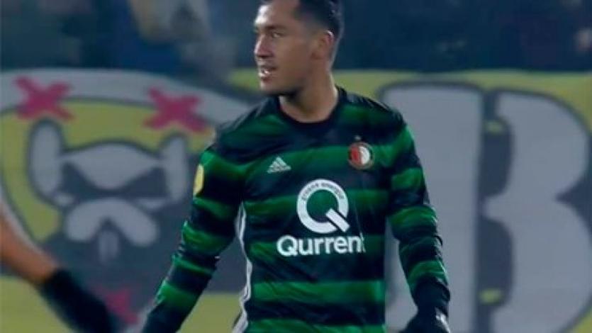 Renato Tapia en el 11 ideal de la Eredivisie