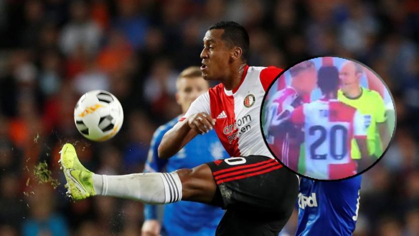 Compañero de Tapia en Feyenoord pidió VAR tras penal en contra y no creerás qué pasó (VIDEO)