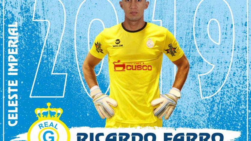 Ricardo Farro fichó por Real Garcilaso