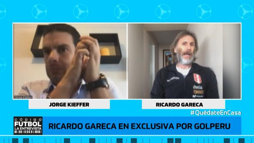 Ricardo Gareca en exclusiva: