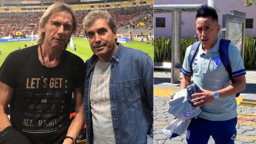Ricardo Gareca fue a ver a Christian Cueva en México, pero el DT de Pachuca no lo puso