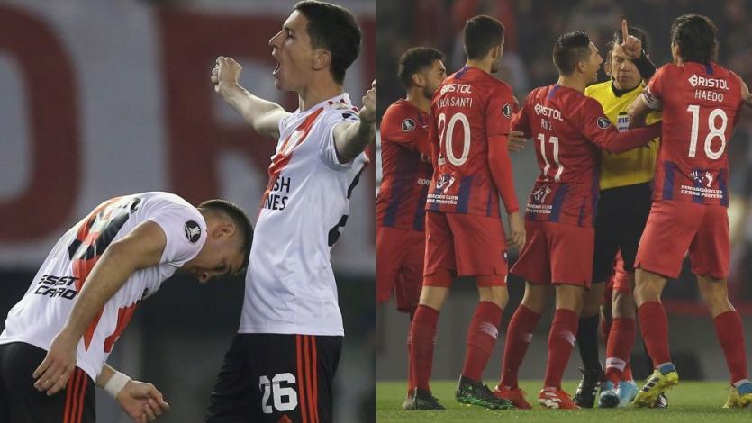 River Plate venció 2-0 a Cerro Porteño con dos penales cobrados por Víctor Hugo Carrillo (VIDEO)