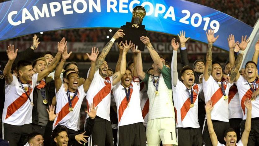Recopa Sudamericana 2019: River Plate goleó 3-0 a Atlético Paranaense y campeonó (VIDEO)