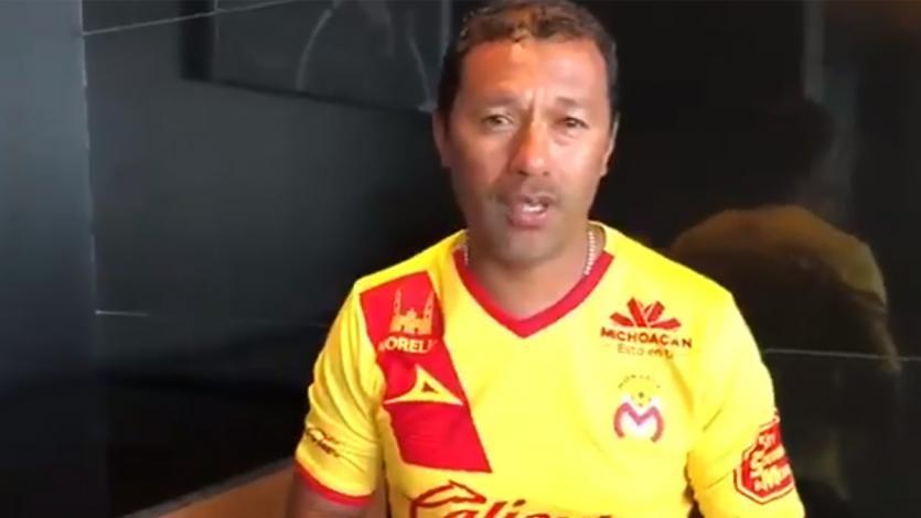 Roberto 'Chorri' Palacios saludó a los hinchas del Morelia