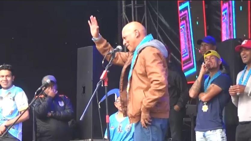 Deportivo Binacional: Los festejos de Roberto Mosquera y su conmovedor mensaje para Juliaca