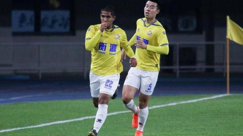 Roberto Siucho anotó su primer gol con el Shanghai Shenxin de China (VIDEO)