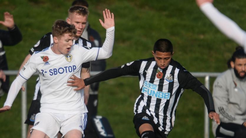 Premier League 2: Rodrigo Vilca fue titular en triunfazo de Newcastle United Sub 23 (VIDEO)